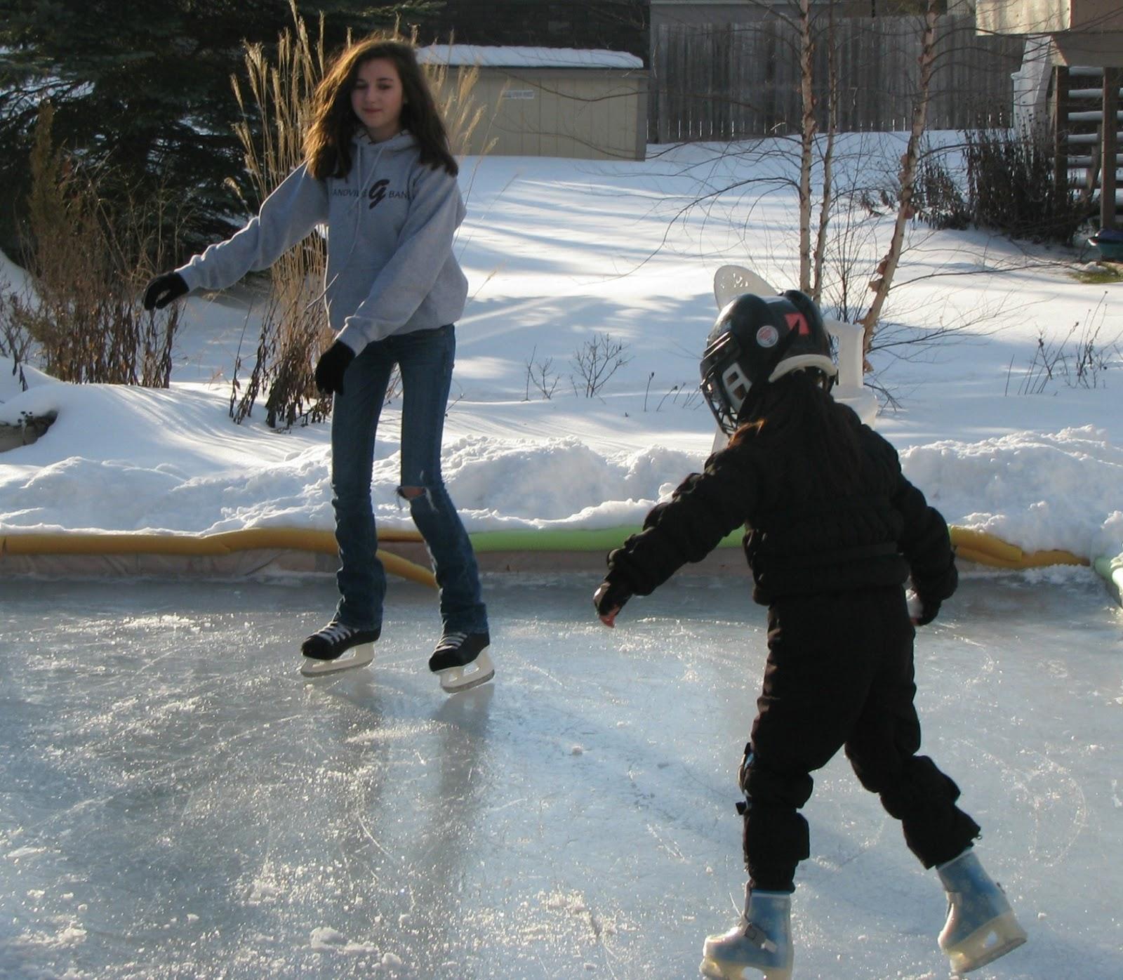 musings from kim k last backyard ice skate of 2013