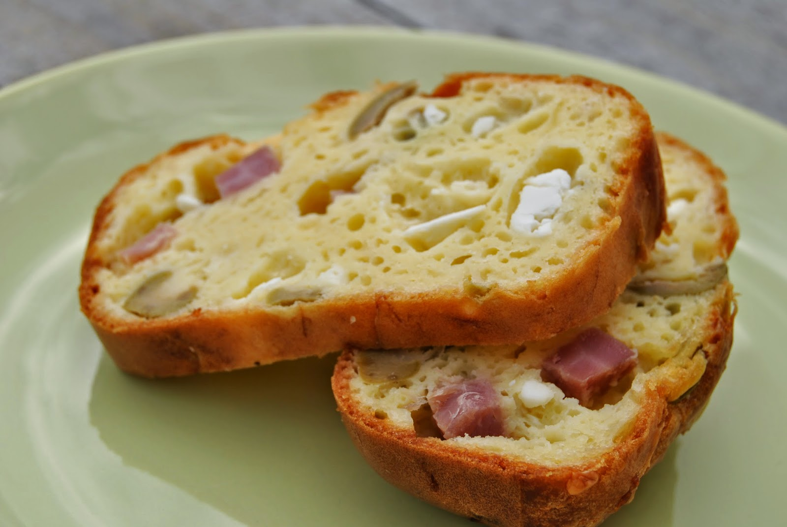 Cake Feta Jambon Cru
