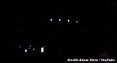 UFOs Captured On Video On ET Highway (2 of 4) 11-12-13