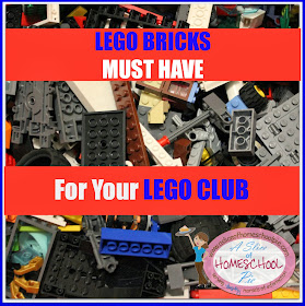 Lego Bricks Must Have for Your Lego Club by ASliceOfHomeschoolPie.com