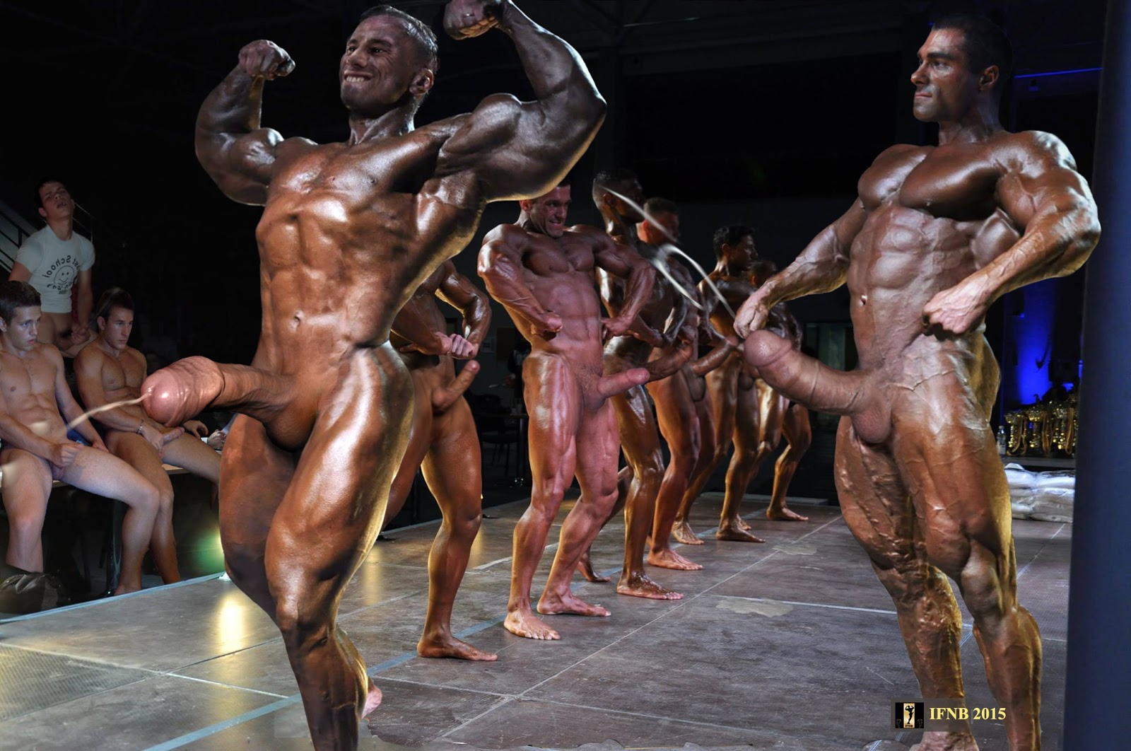 nude men competition