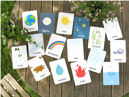 Vocabulary top flash cards templates