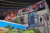 Fans Hungama at Bramaramba Theater-thumbnail-5