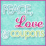 Peace,Love & Coupons