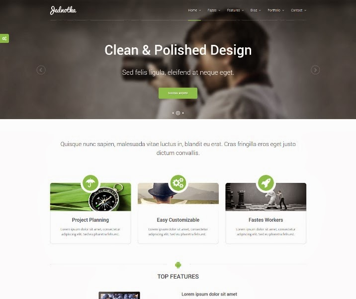 Jednotka - Multipurpose WordPress Theme