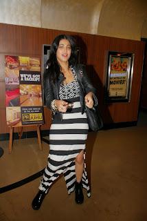 Indian Actress Shruti Han Picture Gallery at Tevar Movie Special Screening  9.JPG
