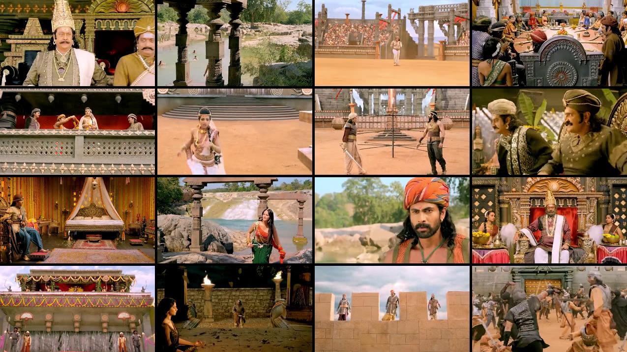 Rudhramadevi 2015 Hindi [Daul Audio] 480p HDRip 450MB Screenshot