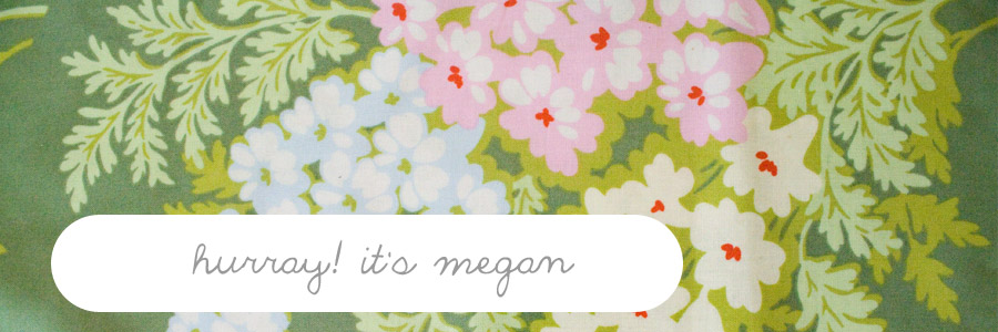 hurray! its megan.