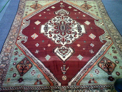 Regular cleaning will keep your rug looking and smelling like new