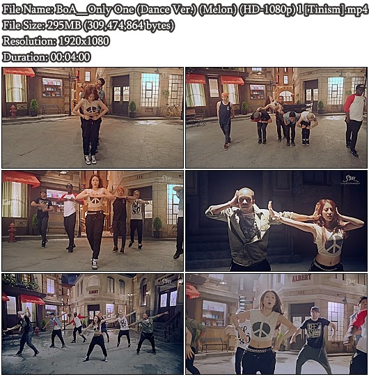 Download MV BoA - Only One (Dance Version) (Melon Full HD 1080p)