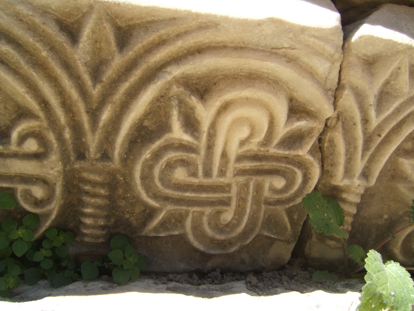 "Stone ""knot"" from Church of St. Nicholas, Demre, Turkey"