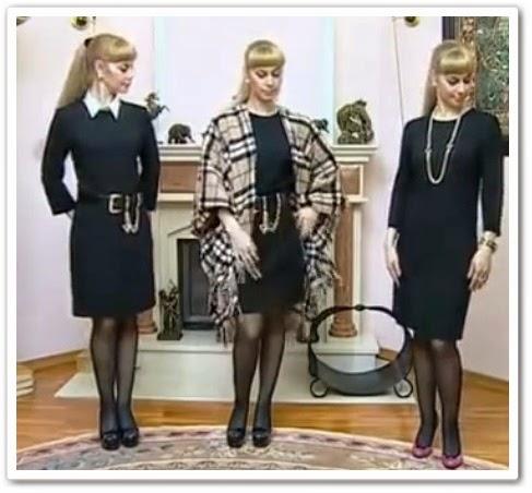 видео урок Как сшить маленькое черное платье