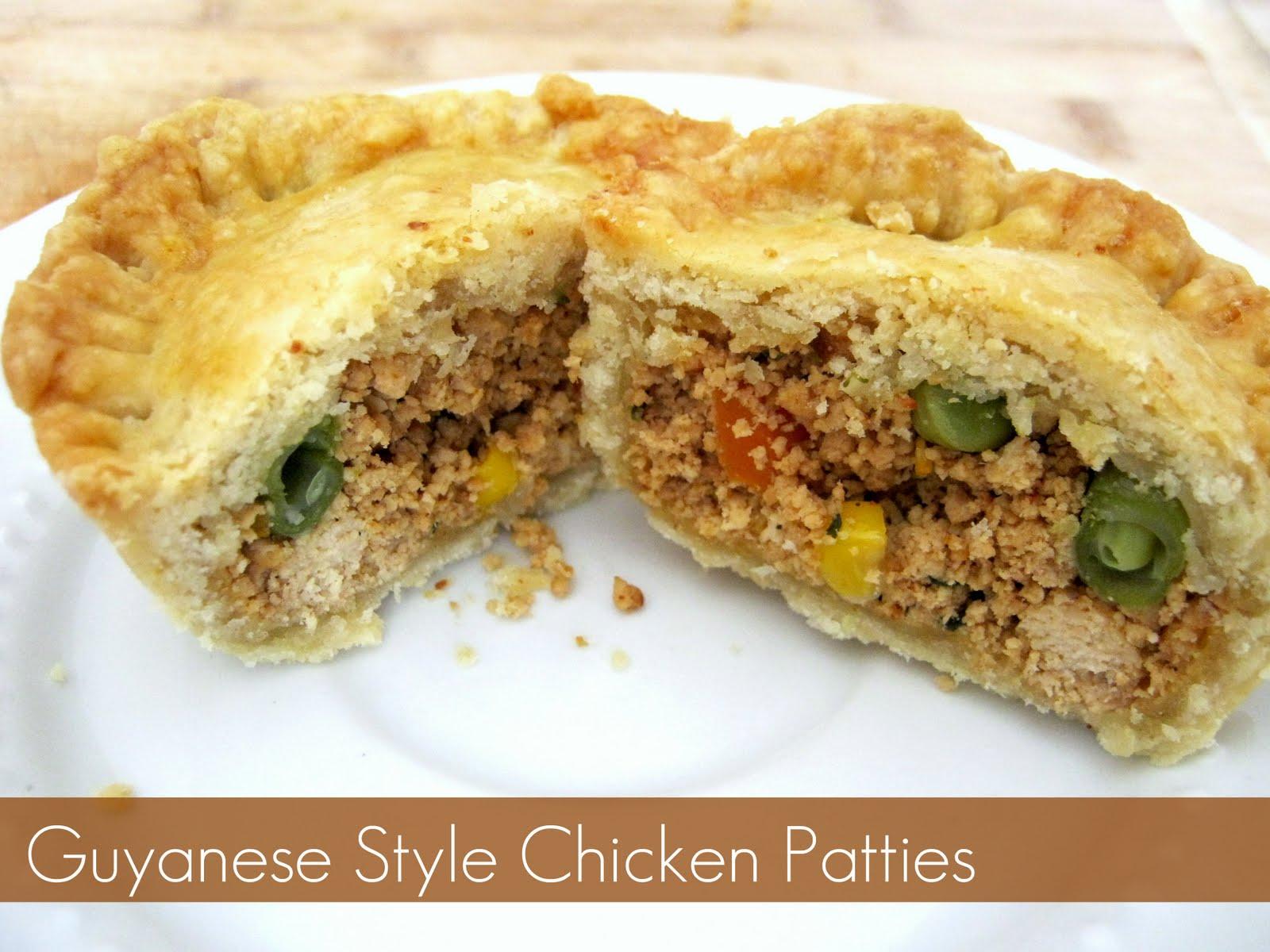 Guyanese style chicken patties alicas pepperpot forumfinder Gallery