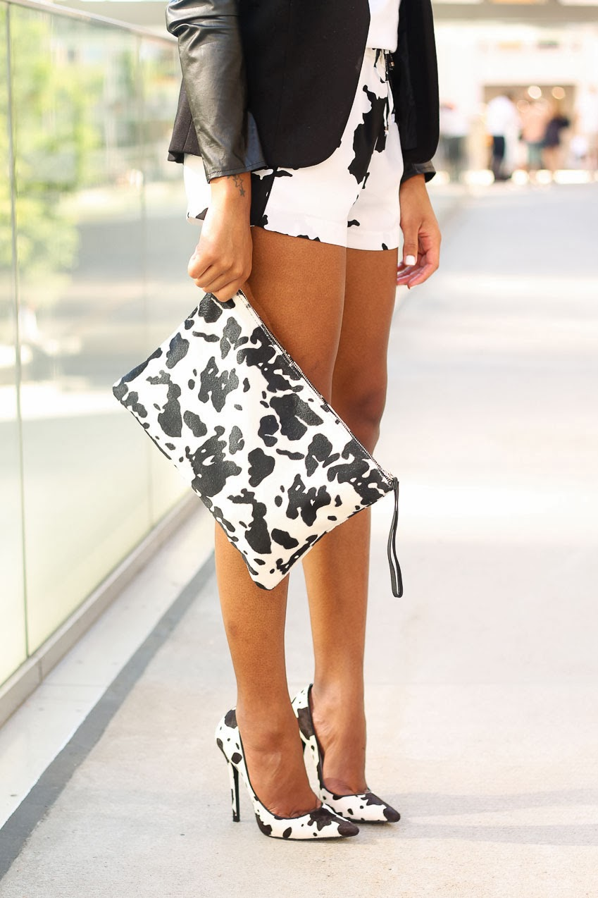 The Daileigh: Cow Print