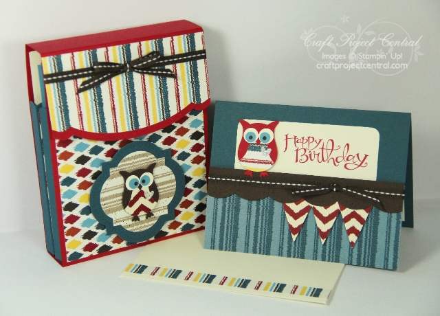 Owl Box and Card Set