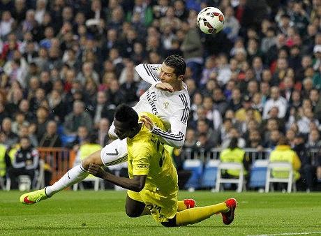 Real Madrid Tertahan Di Santiago Bernabeu