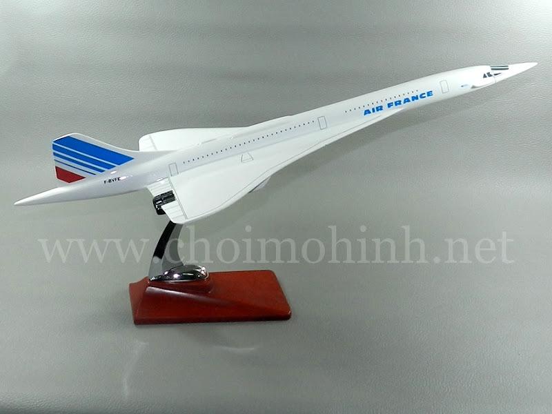 Mô hình máy bay dân dụng Air France Concorde F-BVFB