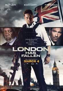 London Has Fallen (2016) Hindi Dual Audio Movie 120Mb hevc BRRip