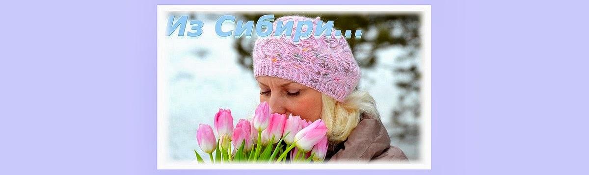 Из Сибири...