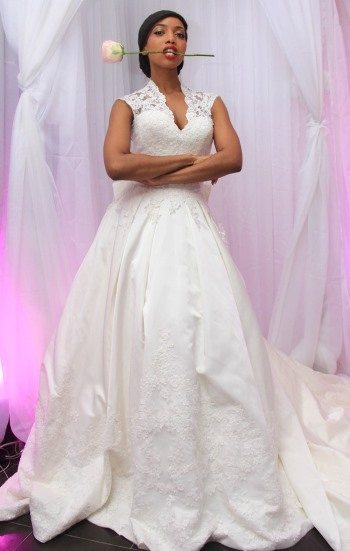 Nigerian Celebrity Wedding Dresses : Photos nigerian celebrities posing in superb wedding