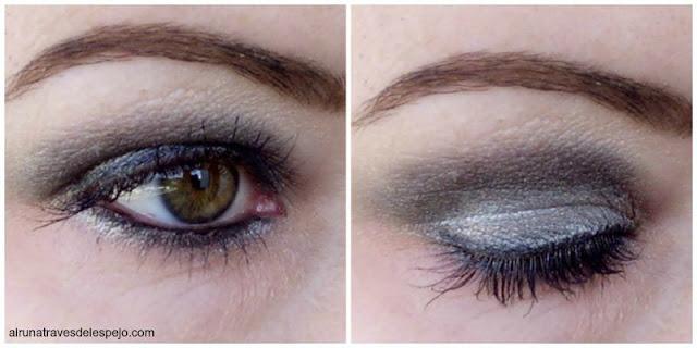 maquillaje sombra plata flormar