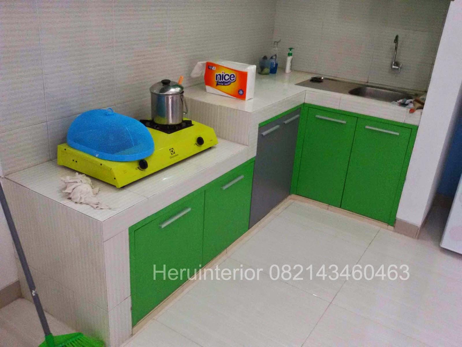 Kontraktor dan desain interior sidoarjo 2015 for Kitchen set bawah