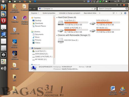 Ubuntu Skin Pack 4.0 For Windows 7 3