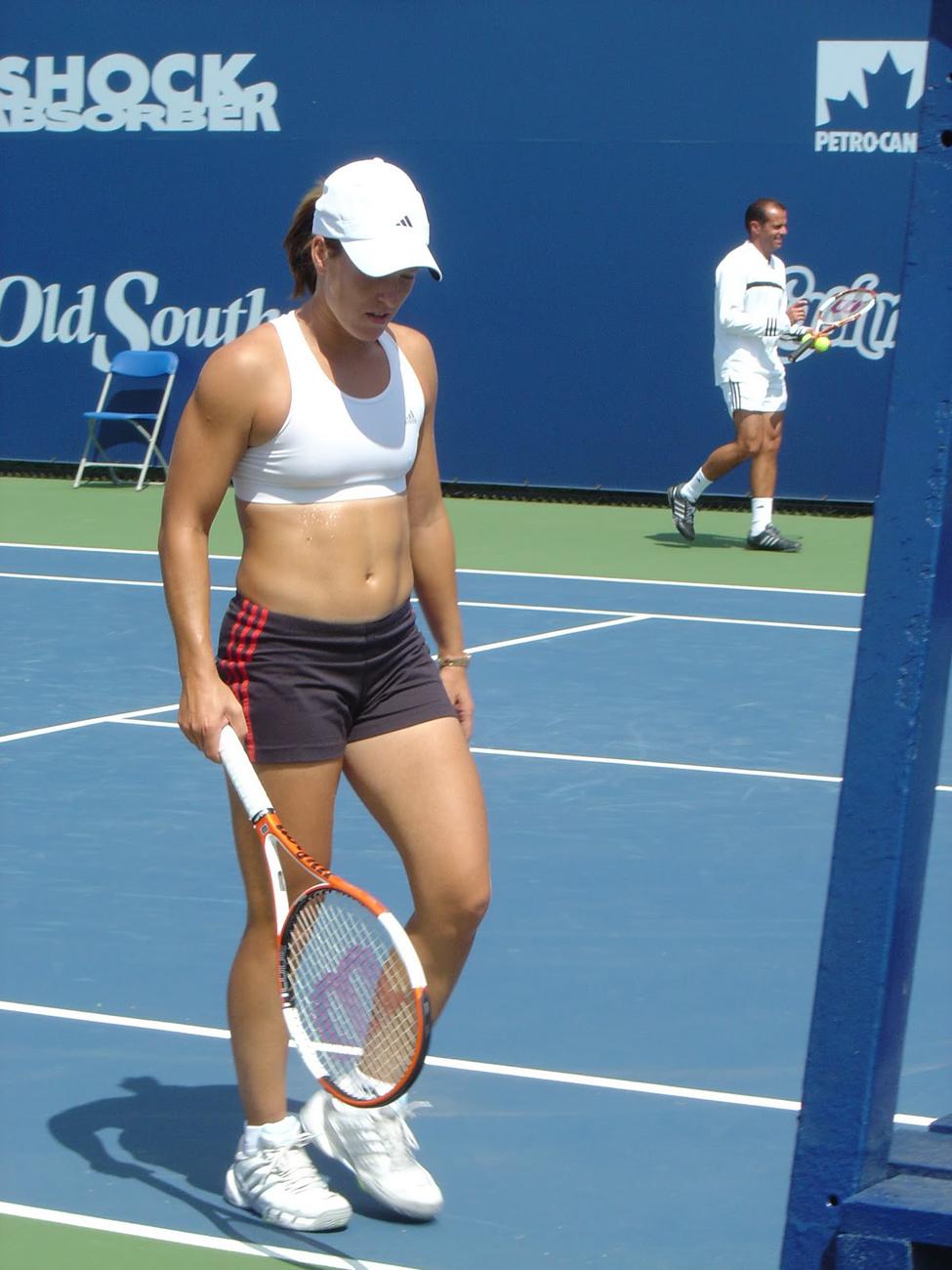 Justine Henin Fresh Hottest Tennis Player s Pic