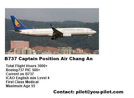 Boeing 737 Captain