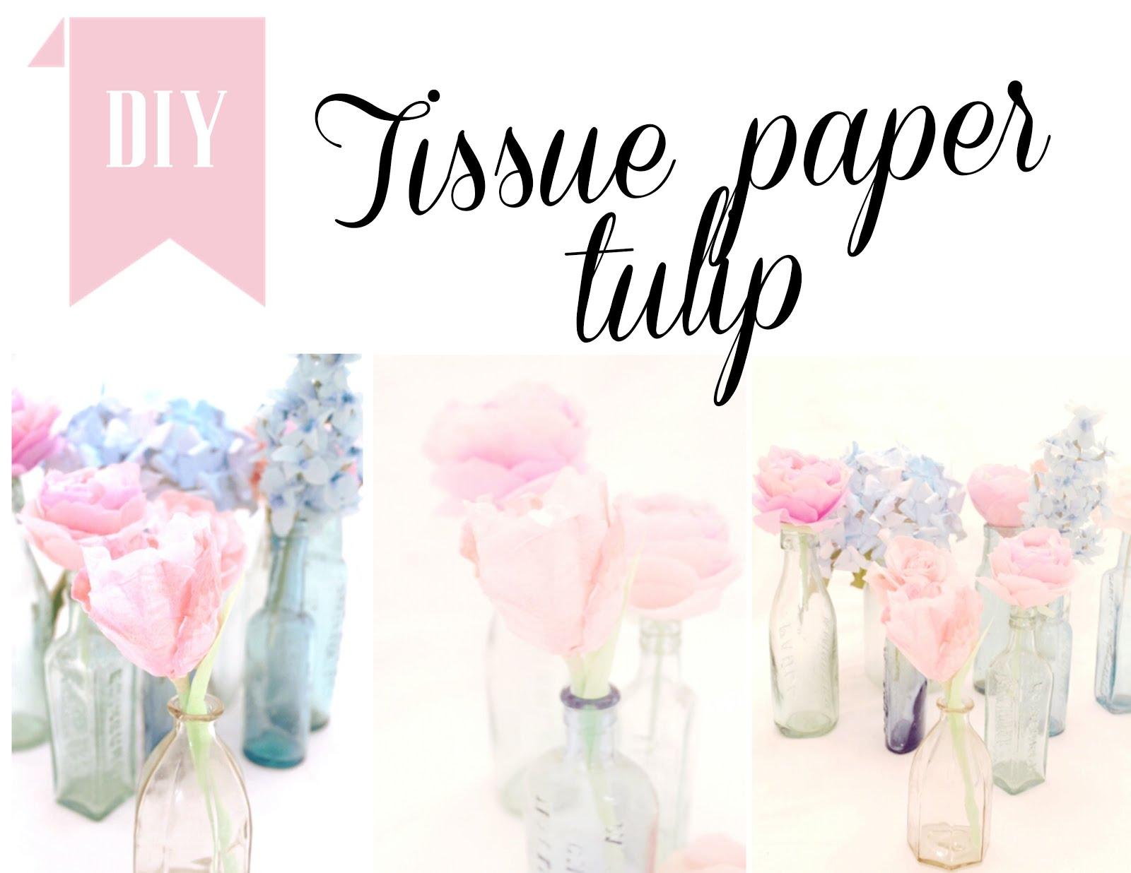 Tissue paper tulip tutorial twigg studios tissue paper tulip tutorial dhlflorist Image collections