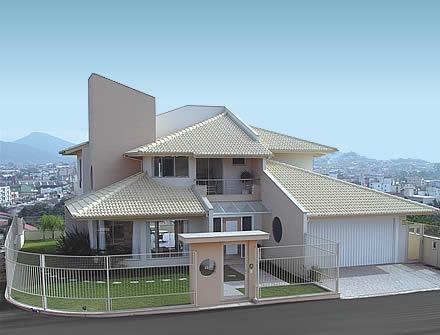 Construindo minha casa clean fachadas com ou sem telhado for Aberturas para casas modernas