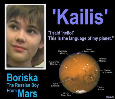 Boriska Indigo Boy from Mars