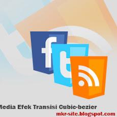 Tombol Follow Me dengan Efek Transisi Cubic Bezier CSS3