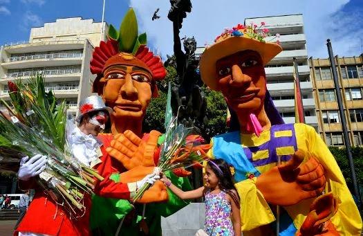Cosecha de flores en Pereira
