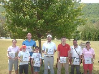 Ganadores Campeonato Navarro de Pitch & Putt 2012