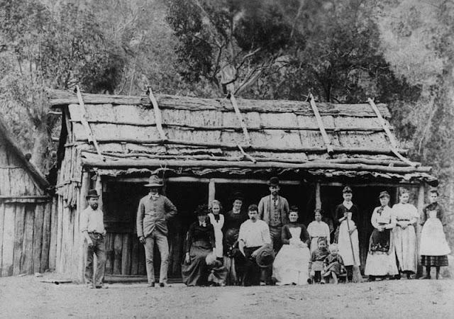 slab hut 1870's