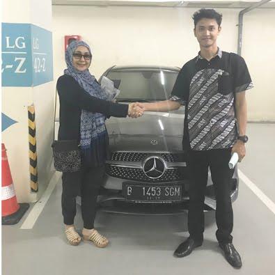 Delivery CLA 200 AMG a/n Ibu Sri Wahyuni