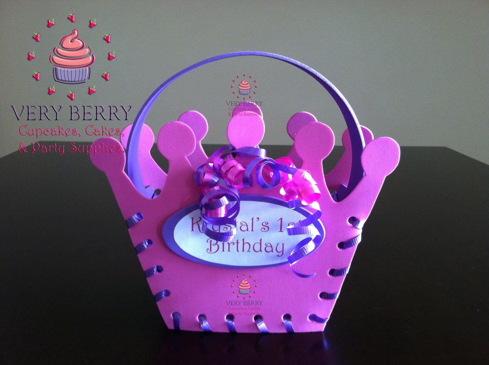 Personalized Princess Candy Bags