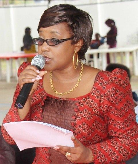 Kaimu Mkurugenzi Mtendaji, Lilian Liundi wa TGNP Mtandao akizungumza.