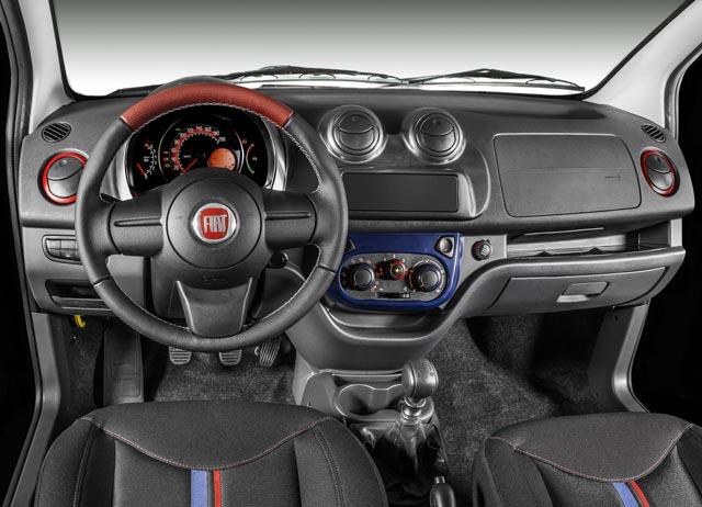 a car Fiat Uno 2014