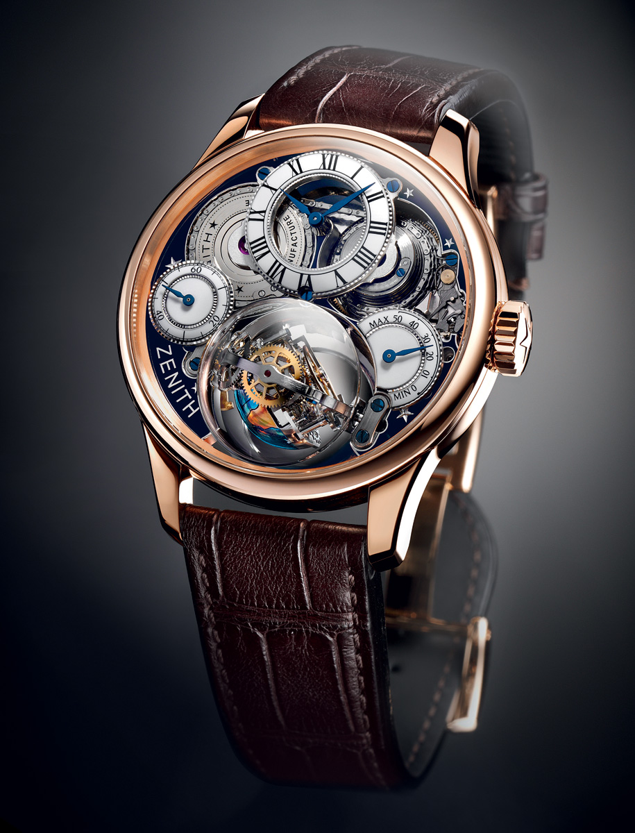 Watches By SJX: Presenting the Zenith Christophe Colomb ...