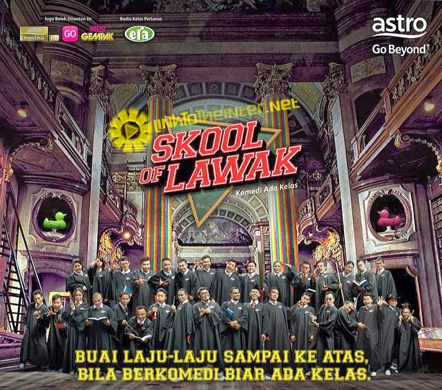 Skool Of Lawak 2014 Full Episod 8 Stand Up dan Silent Comedy