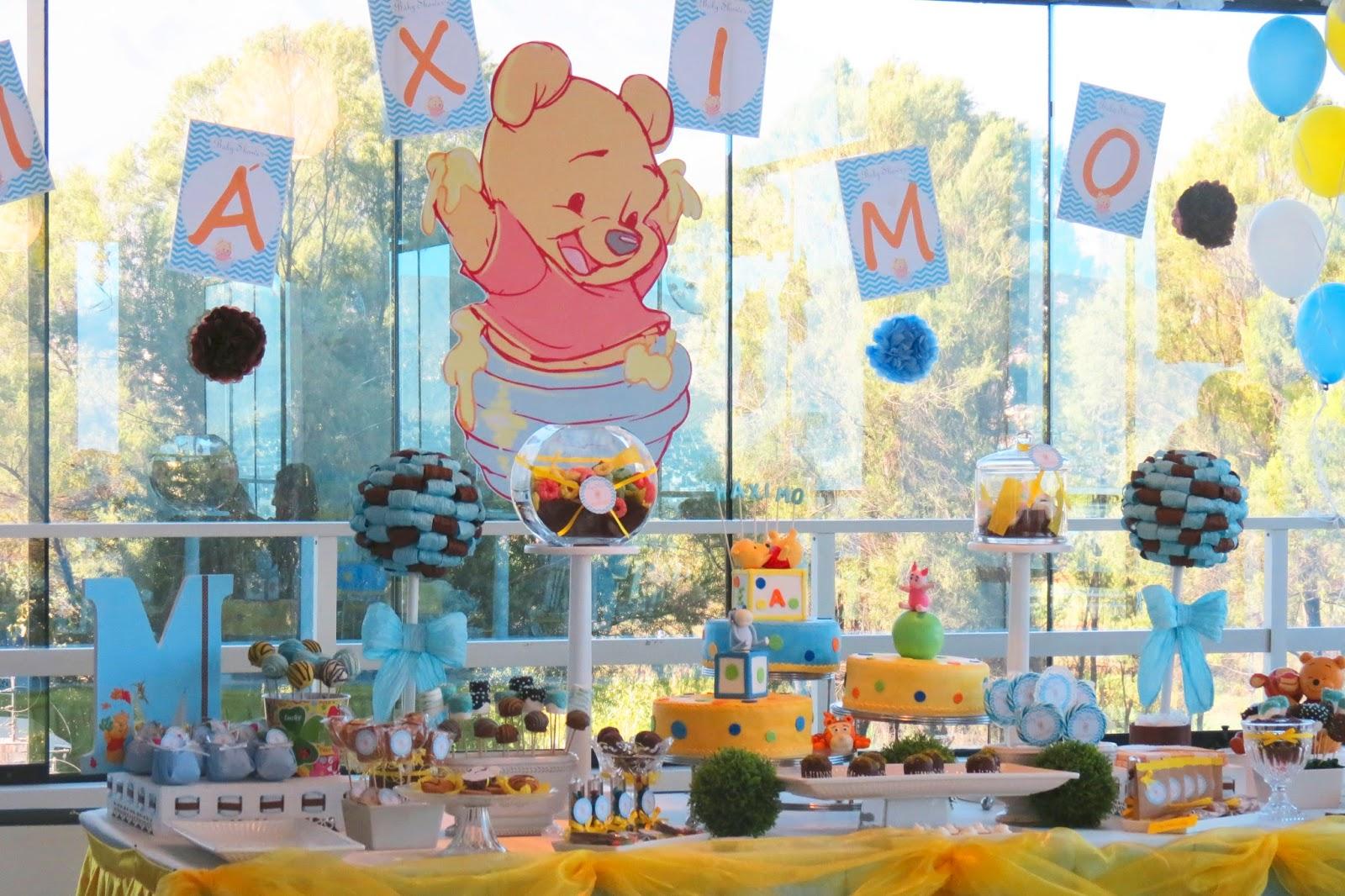 Baby Shower De Winnie The Pooh Para Nio Mximo Baby Shower