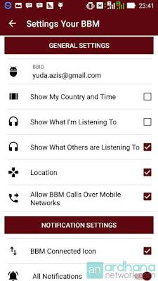 Preview BBM Hybrid V2.2 - BBM Android V2.10.0.35