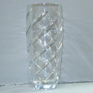 Buy a Spiral Cut Crystal Vase