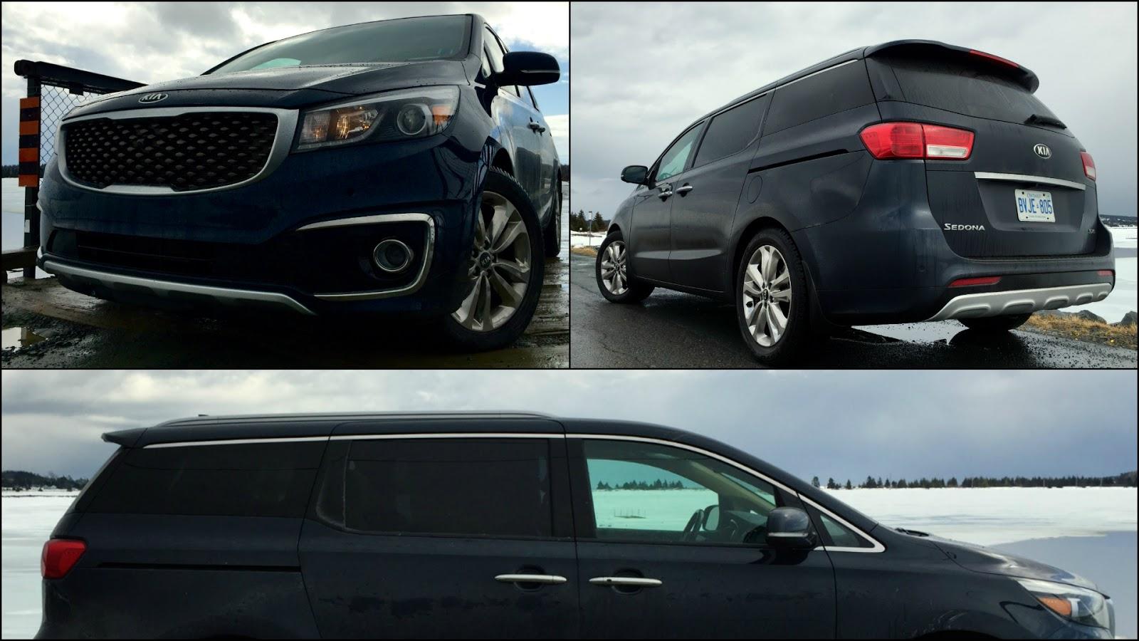 2015 Kia Sedona SXL+ exterior collage