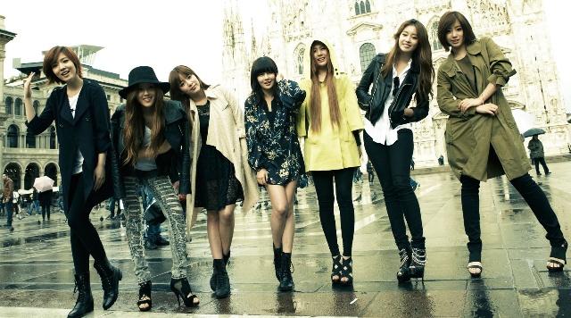 Personil Girlband Korea Tercantik - T-Ara