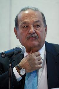 CARLOS  SLIM LLAMA MENTIROSO Y VENDIDO A JOSÉ ÁNGEL GURRÍA.