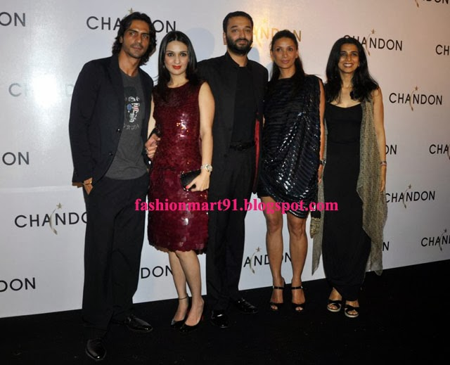 Arjun Rampal, Tina Tahiliani Parikh , Anu, Sunny Dewan, Mehr Rampal