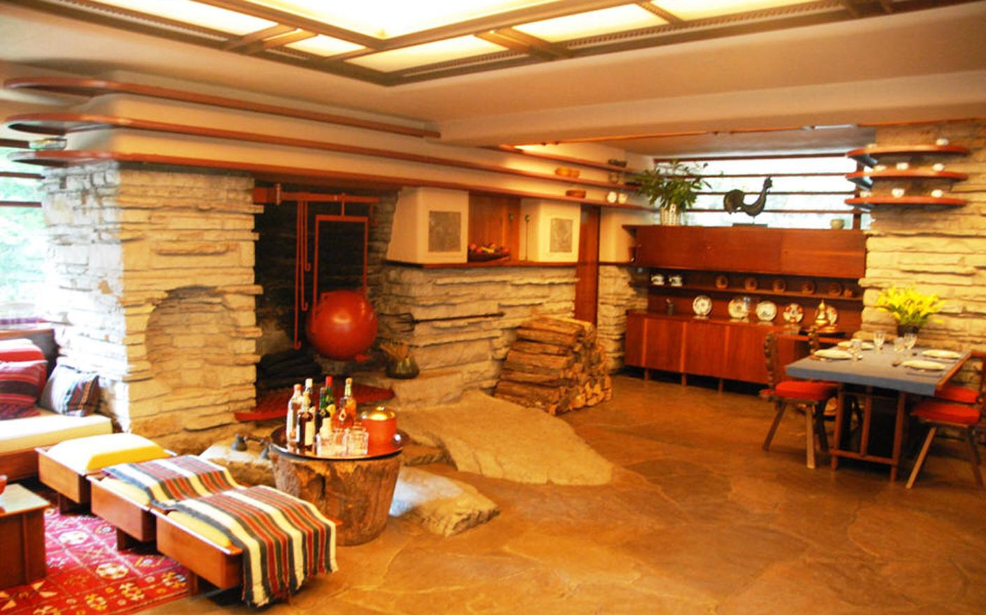 La casa de la cascada 3 interiores asociacion de - Decoradores de casas interiores ...